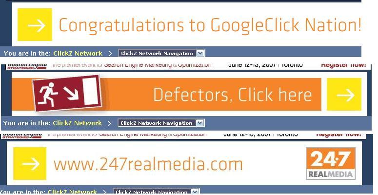 GoogleClick Ad
